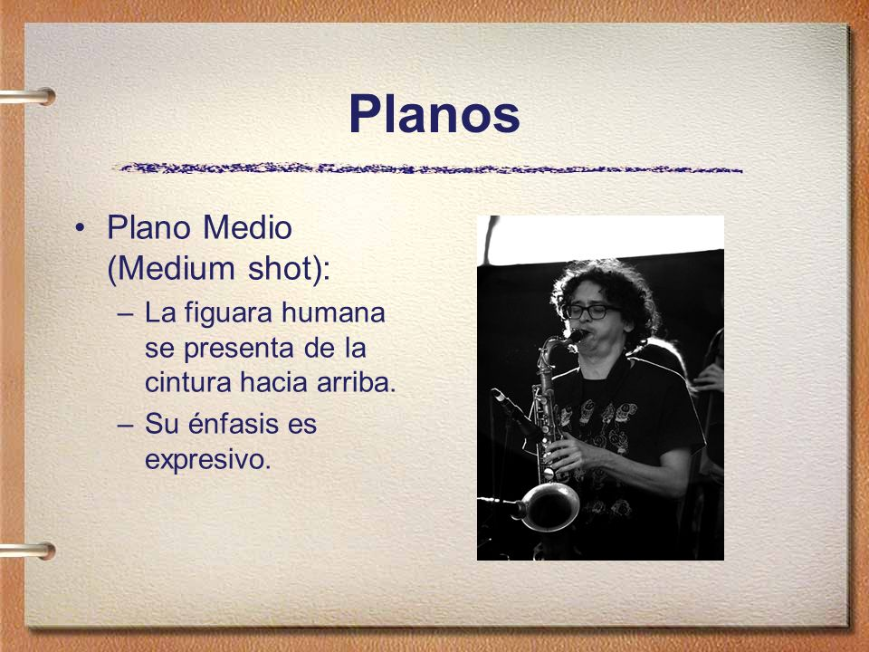 Planos Plano Medio (Medium shot):