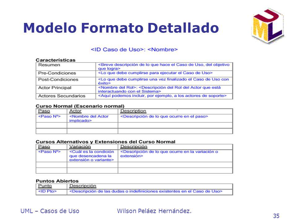 Introduccion a UML Wilson Peláez Hernández - ppt descargar