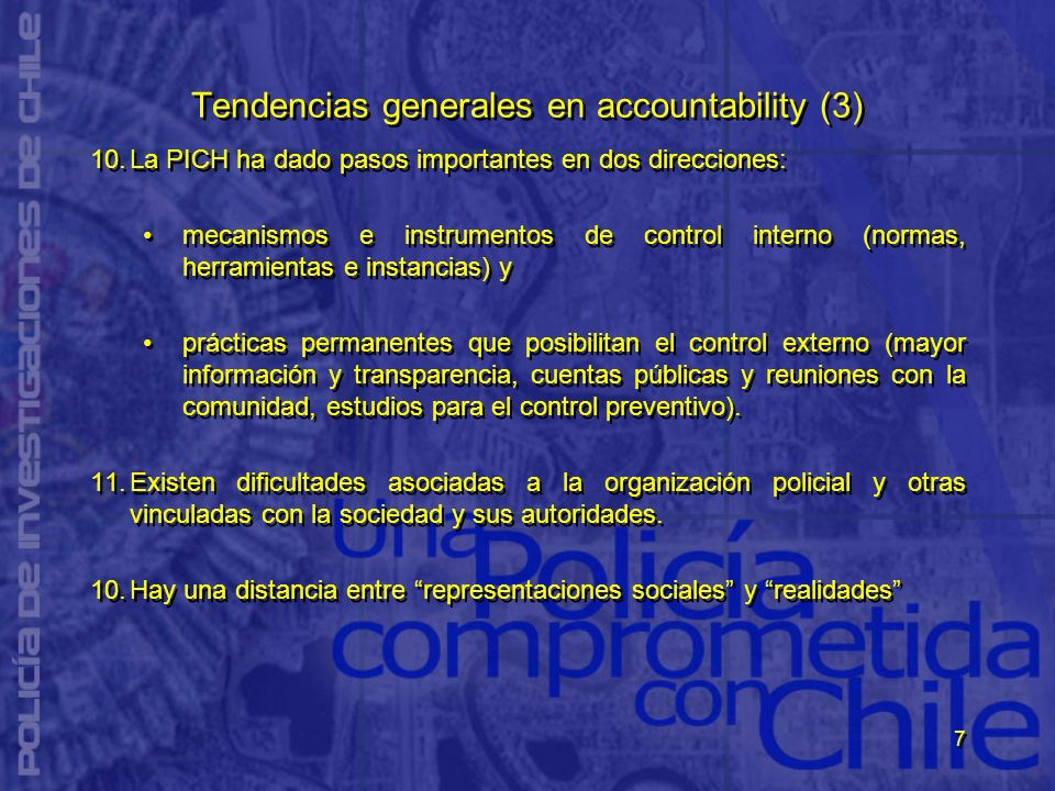 Tendencias generales en accountability (3)