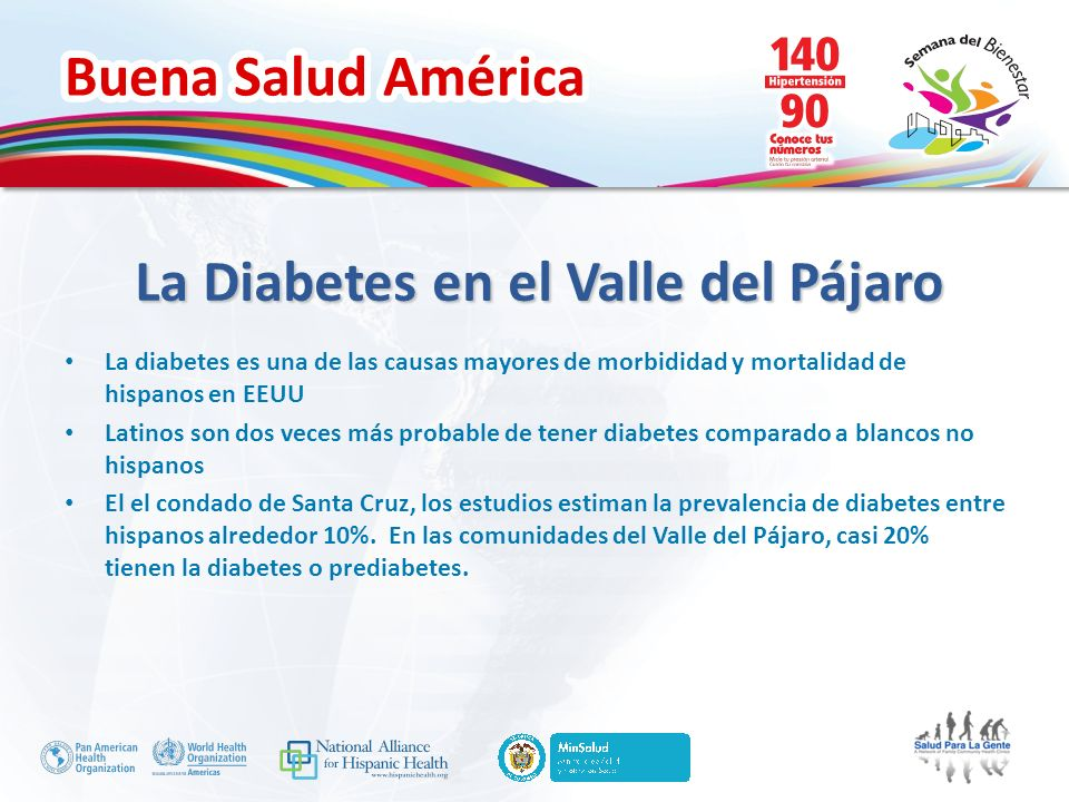 La Diabetes en el Valle del Pájaro