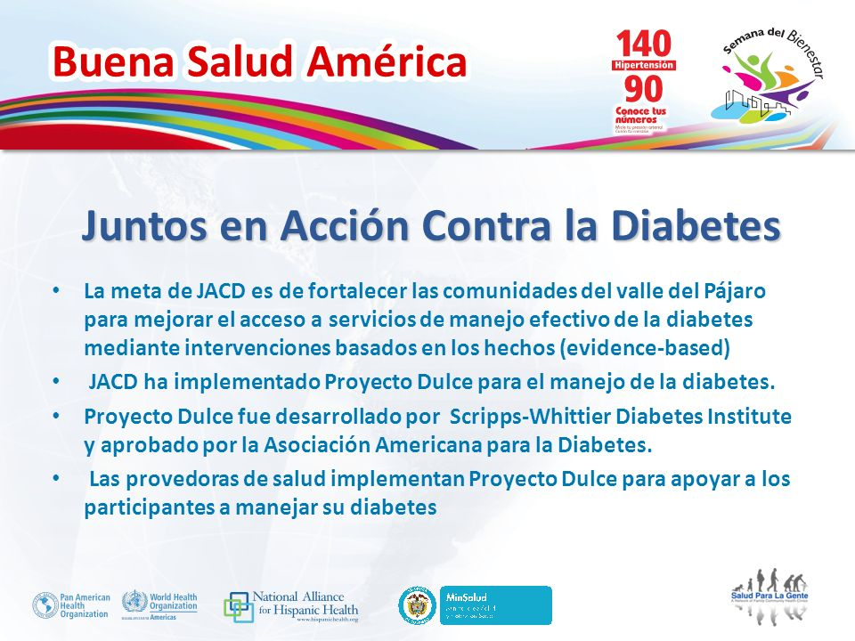 Juntos en Acción Contra la Diabetes