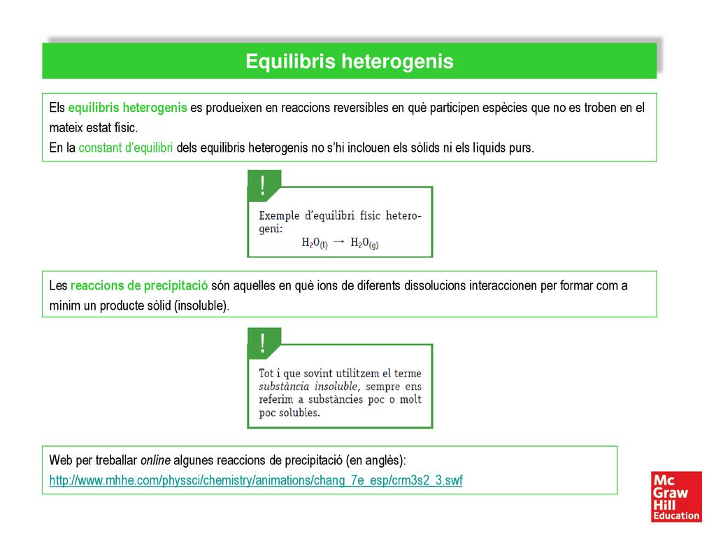 Equilibris heterogenis