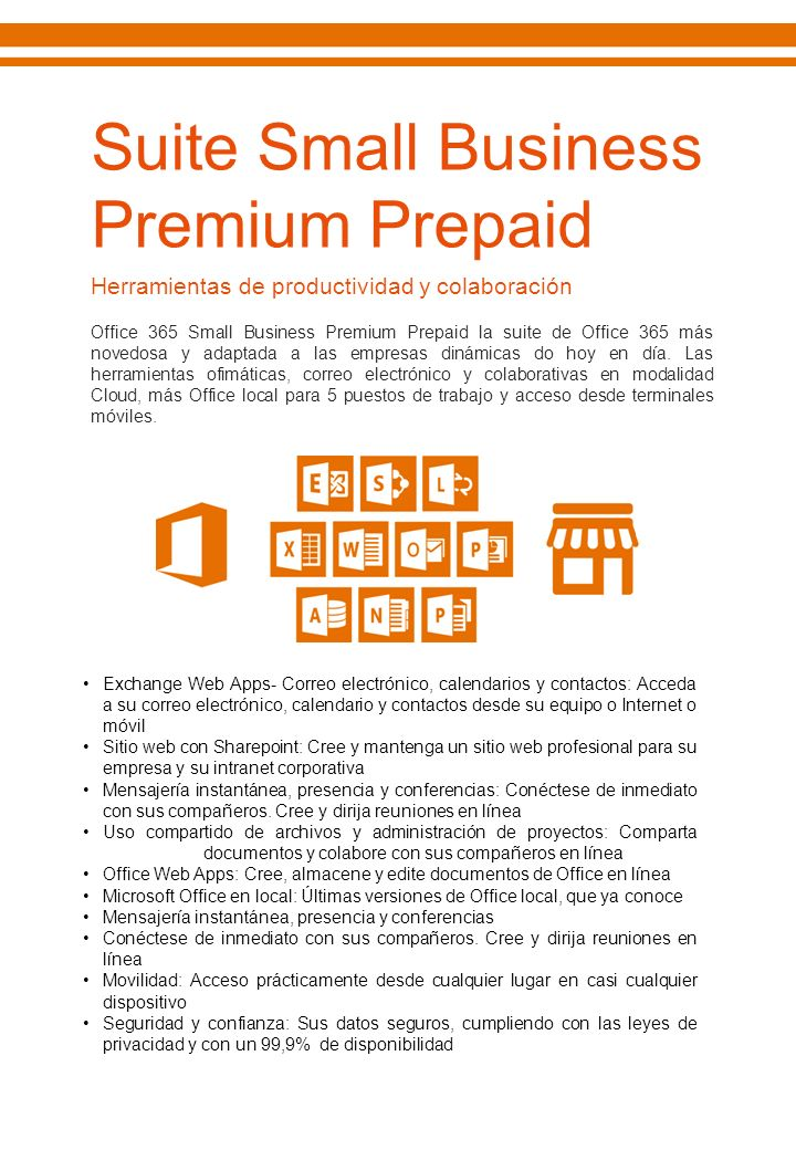 Suite Small Business Premium Prepaid