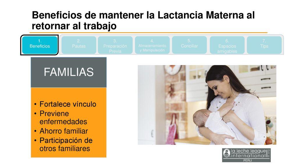 f13a93ccb447 6 Almacenamiento y Manipulación Beneficios de mantener la Lactancia Materna  al retornar al trabajo ...
