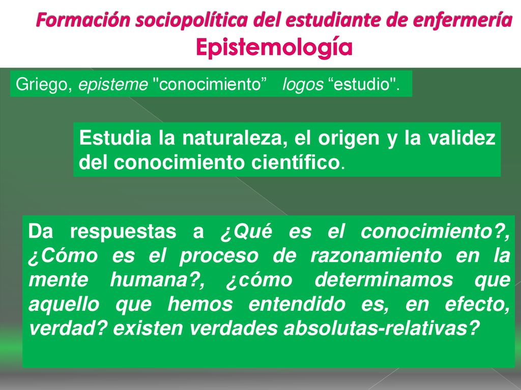 Formacion Sociopolitica Del Estudiante De Enfermeria Ppt Descargar