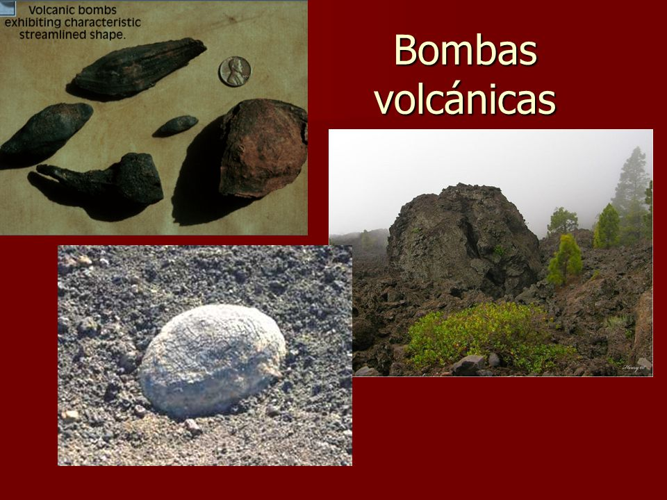Bombas volcánicas