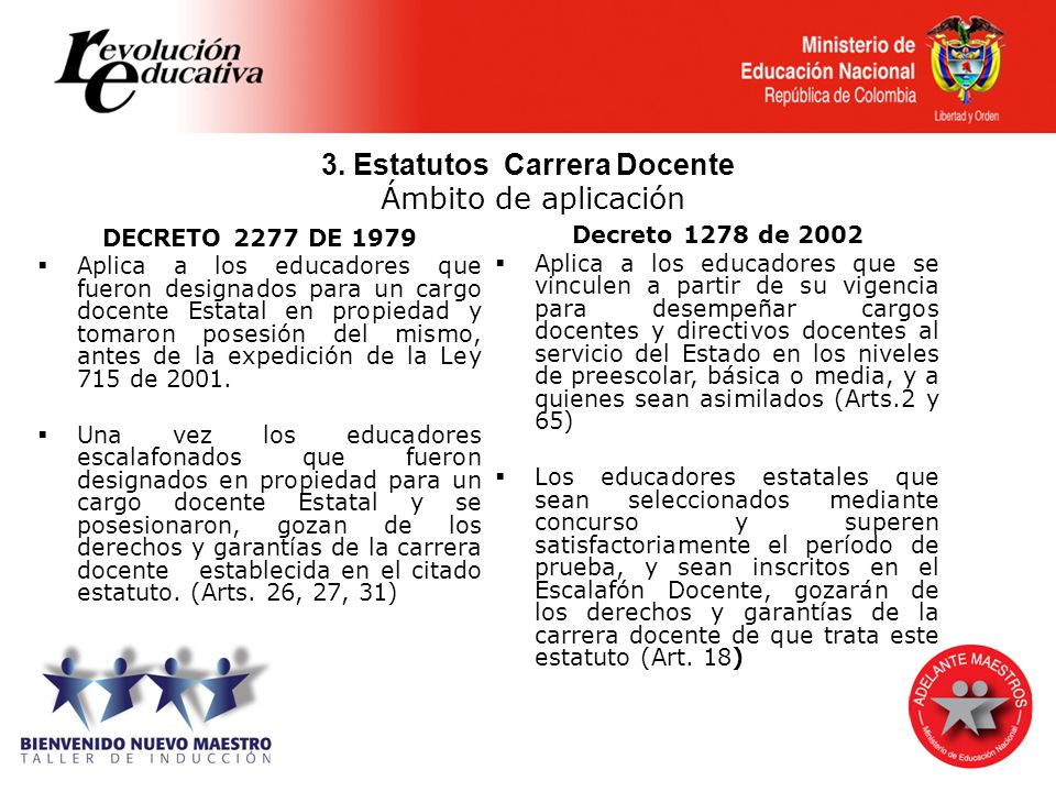 3. Estatutos Carrera Docente