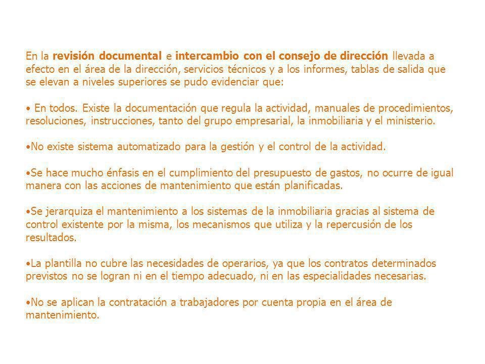 Diagnóstico de la actividad de mantenimiento en la empresa turística ...
