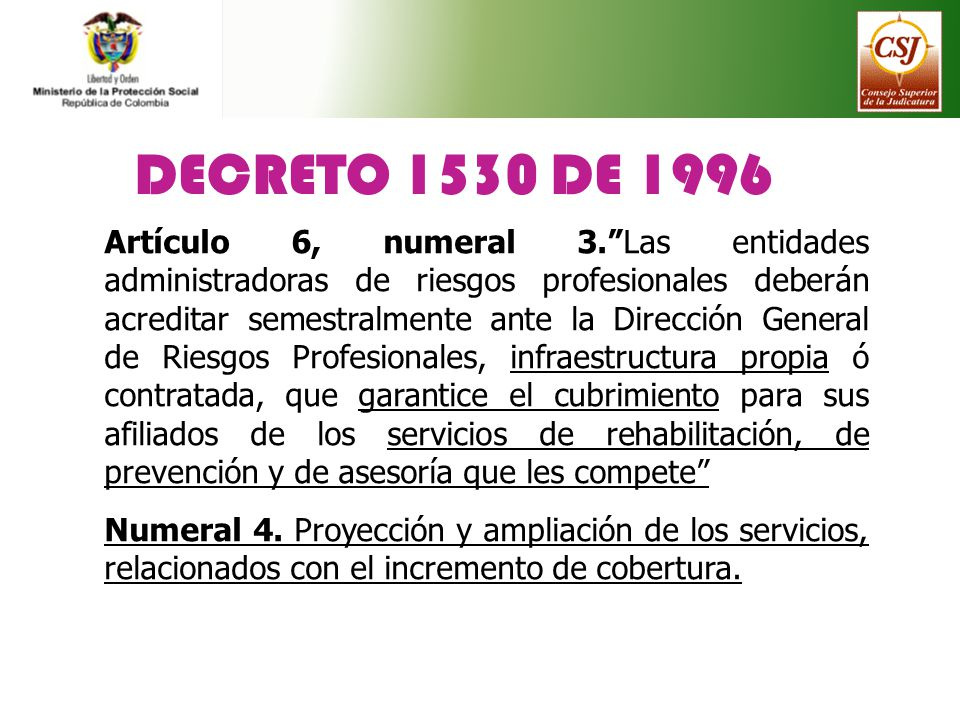 DECRETO 1530 DE 1996 COLOMBIA PDF DOWNLOAD