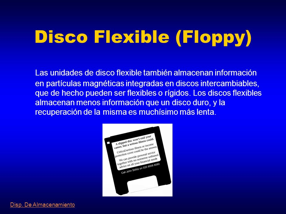 Disco Flexible (Floppy)