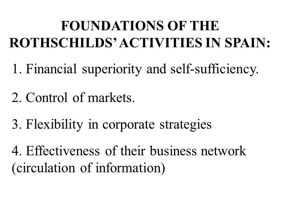 FOUNDATIONS OF THE ROTHSCHILDS' ACTIVITIES IN SPAIN: