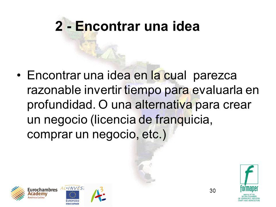 2 - Encontrar una idea
