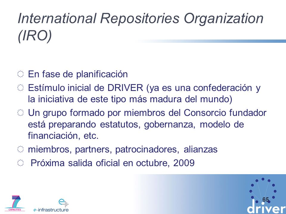 International Repositories Organization (IRO)