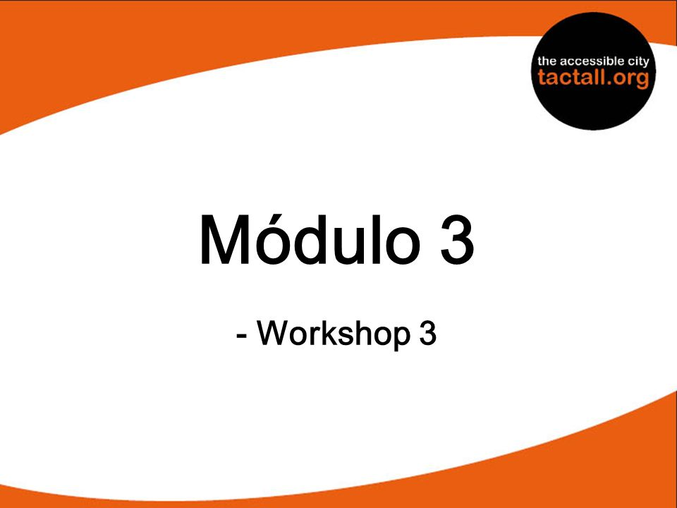 Módulo 3 - Workshop 3