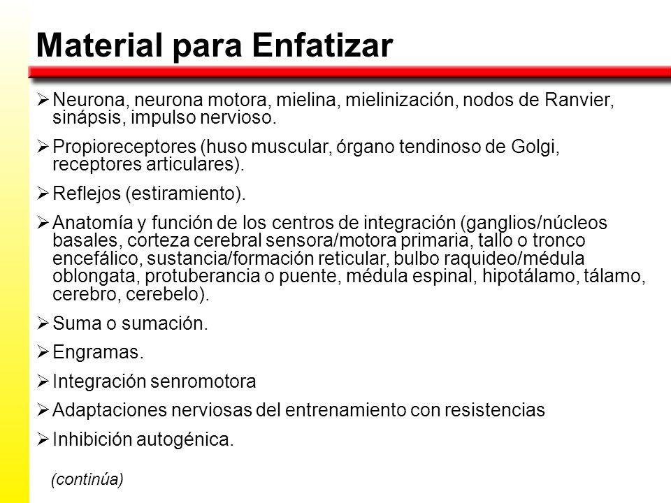 FISIOLOGÍA DEL MOVIMIENTO HUMANO REPASO PRIMER EXAMEN PARCIAL: - ppt ...