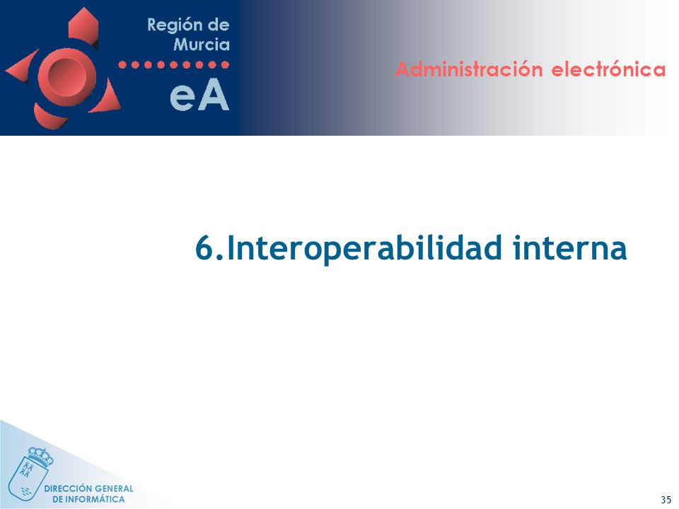 6.Interoperabilidad interna
