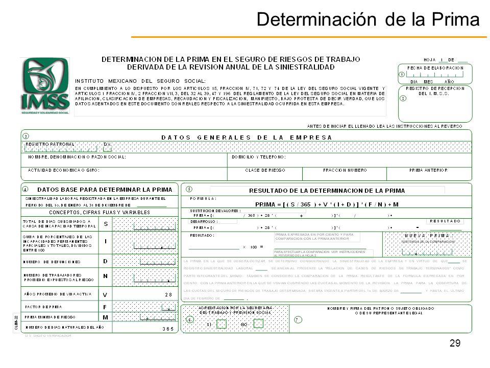 FORO DETERMINACION DE LA PRIMA DEL SEGURO DE RIESGO DE TRABAJO ppt ...