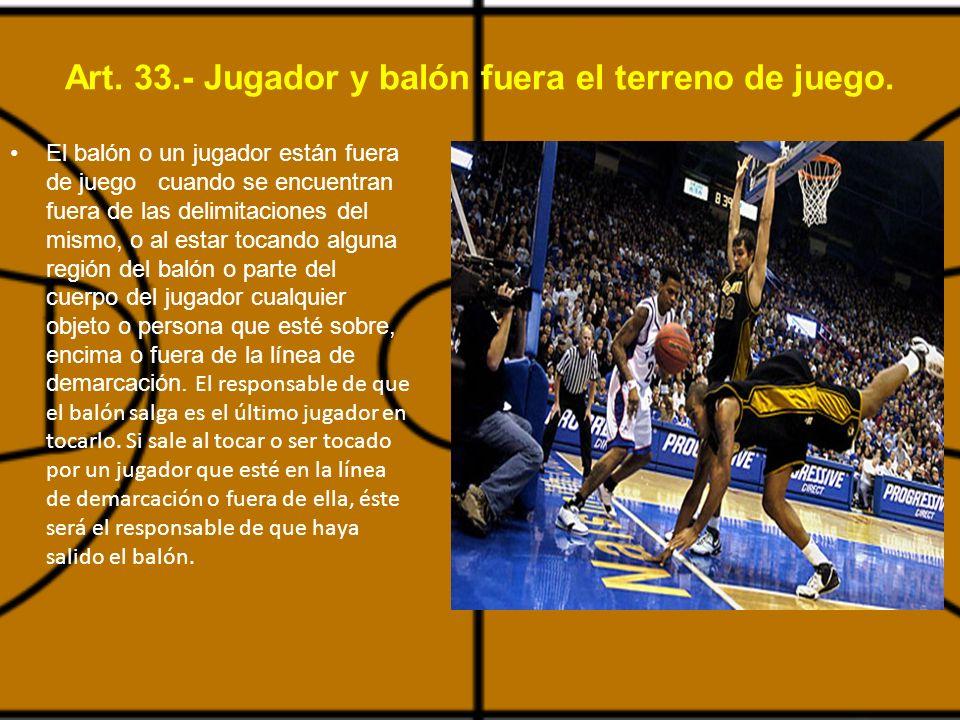 05 violaciones y faltas del reglamento en el baloncesto for Balon fuera de juego