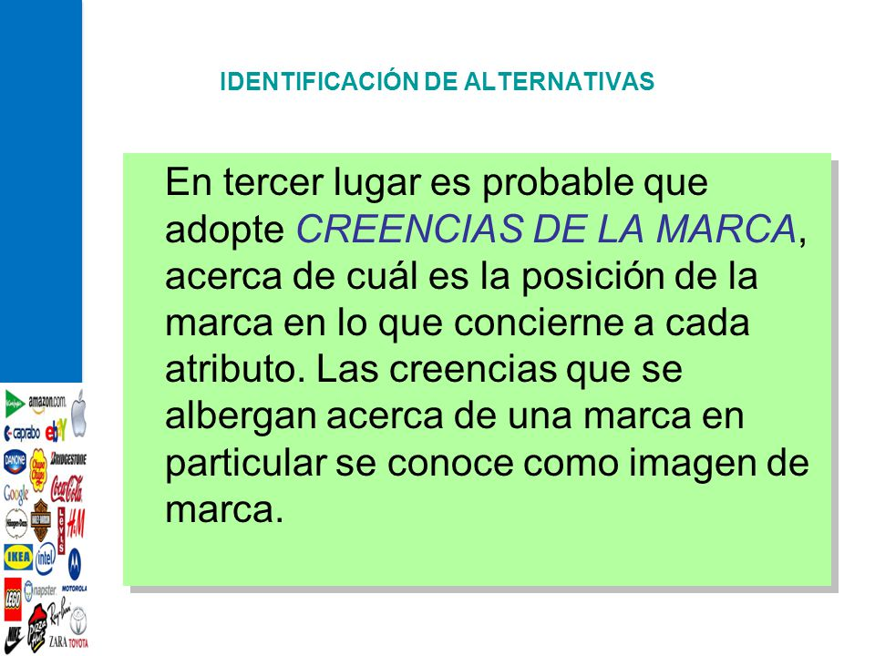 IDENTIFICACIÓN DE ALTERNATIVAS