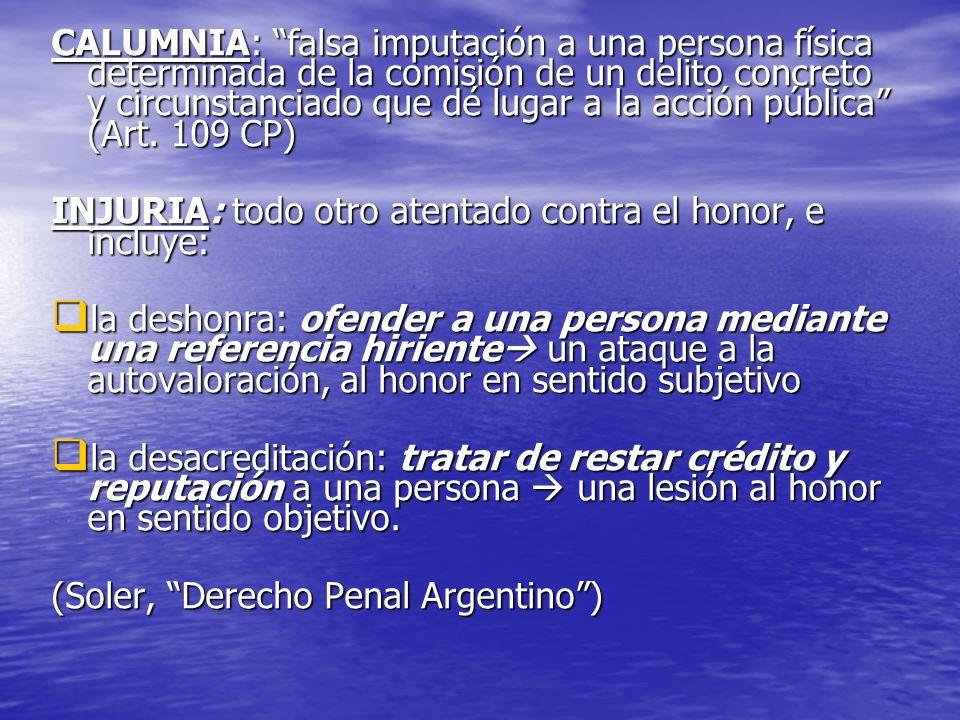 Resultado de imagen para delito de honor en argentina