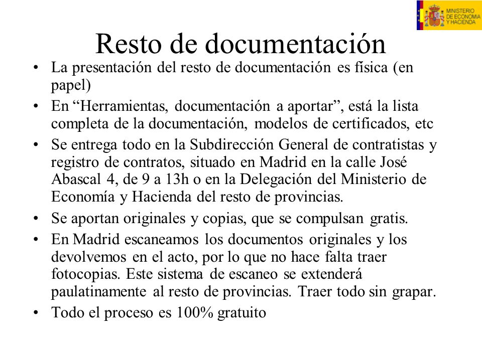 Resto de documentación