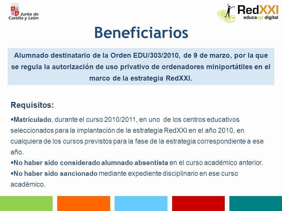 Beneficiarios Requisitos: