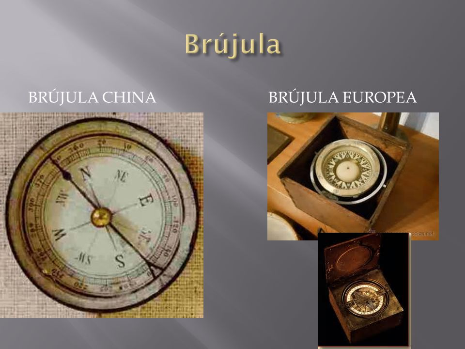 Brújula Brújula chinA BRÚJULA EUROPEA