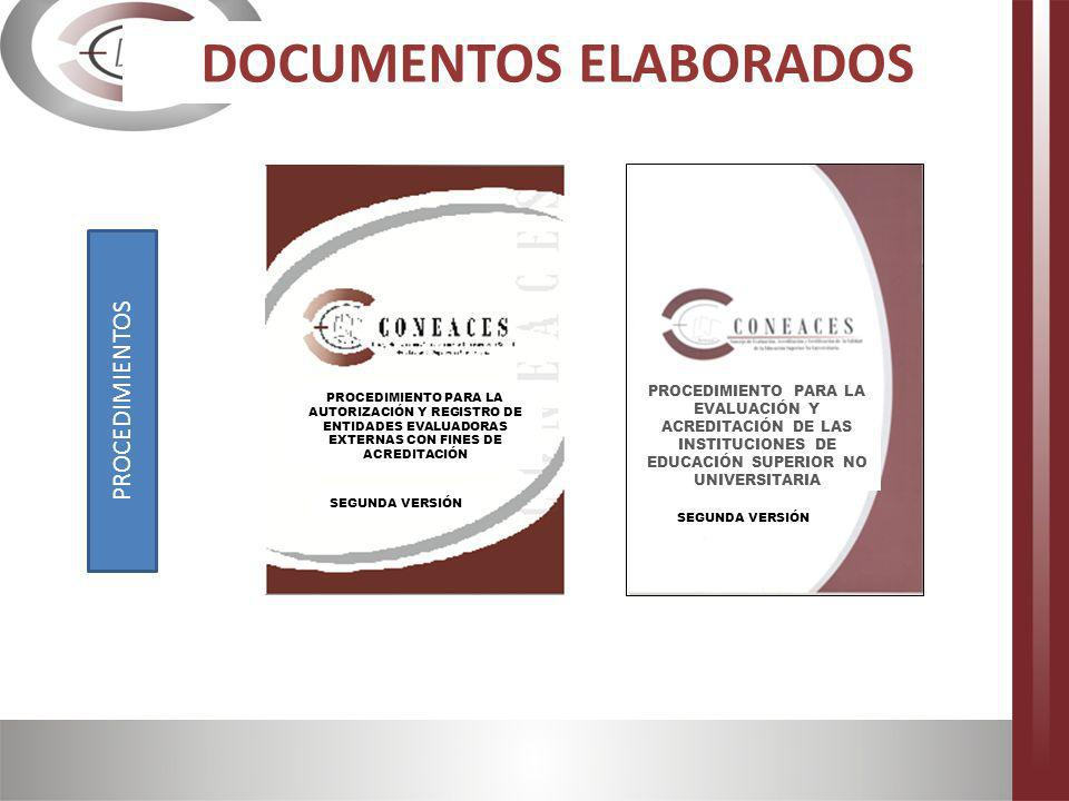 DOCUMENTOS ELABORADOS