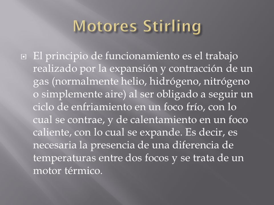 Motores Stirling