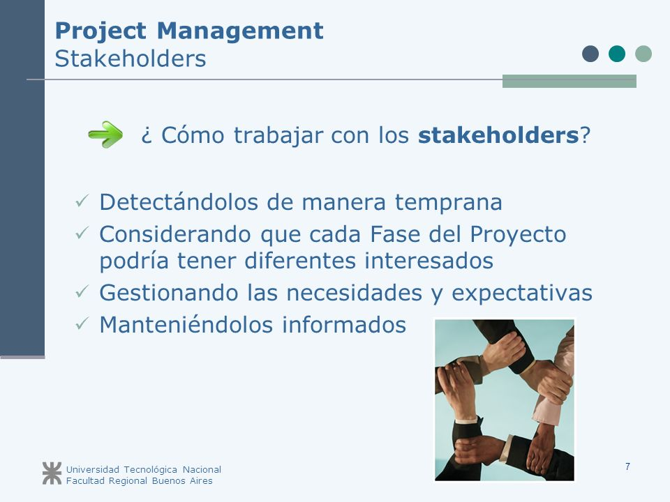 Project Management Stakeholders