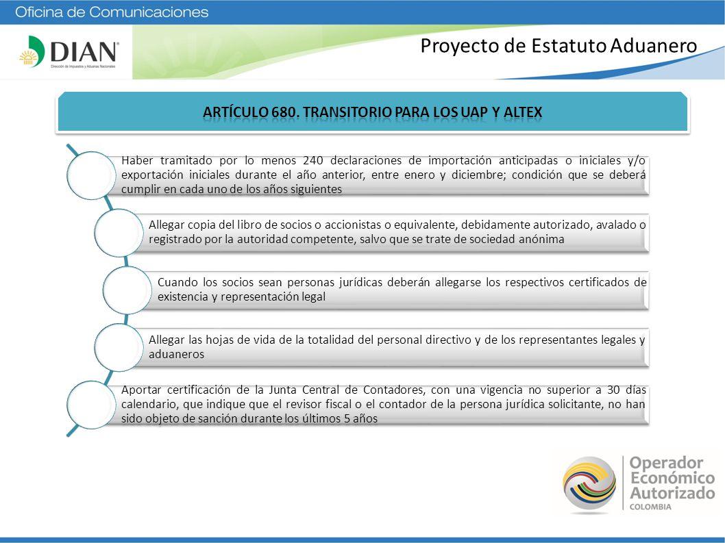 Operador económico autorizado Colombia – impacto del e.a - ppt descargar