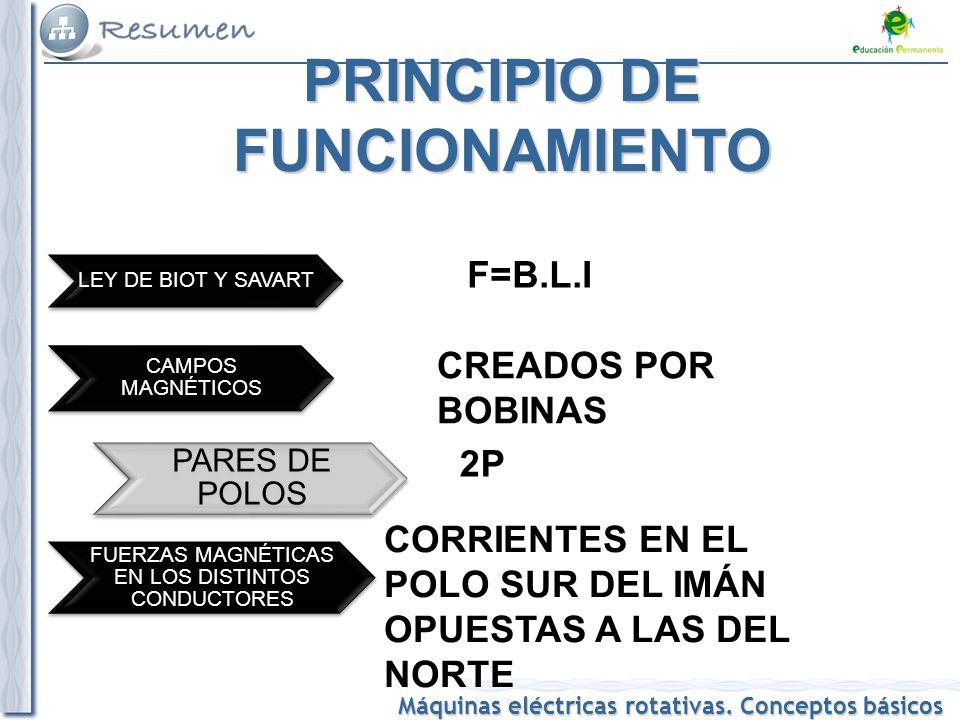 Máquina eléctrica. Elaboración propia. 5 PRINCIPIO DE FUNCIONAMIENTO fa27171e97d2