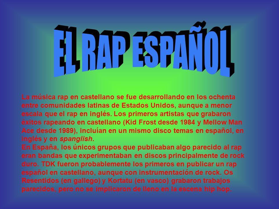 ÍNDICE El Hip-hop 1. Introducción 2. Historia 3. El Rap