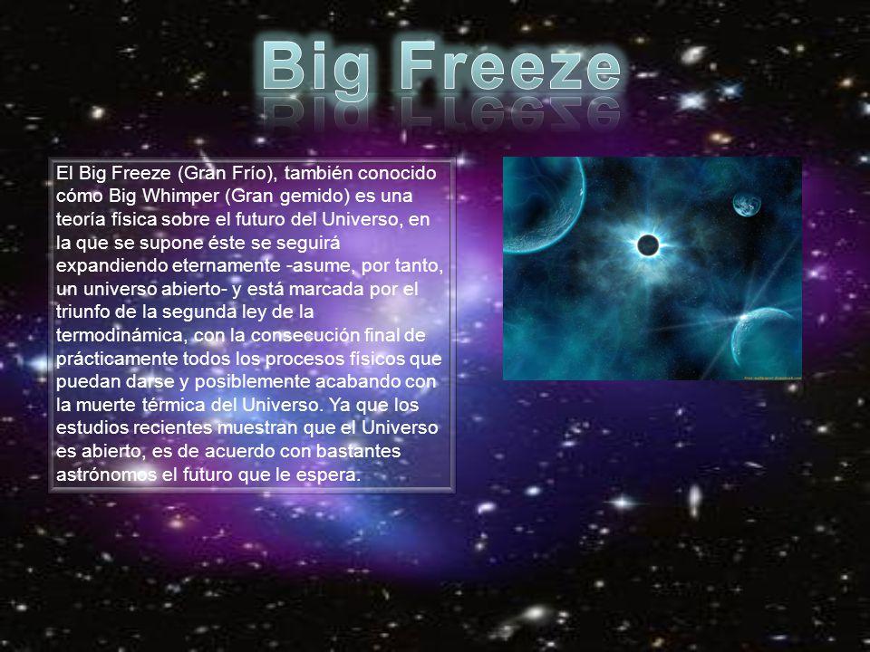 """Resultado de imagen de El Big Freeze (""""Gran Frío"""")"""