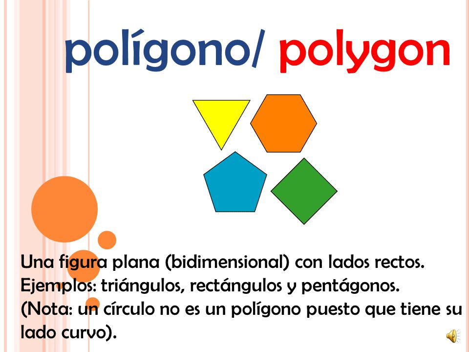 polígono/ polygon