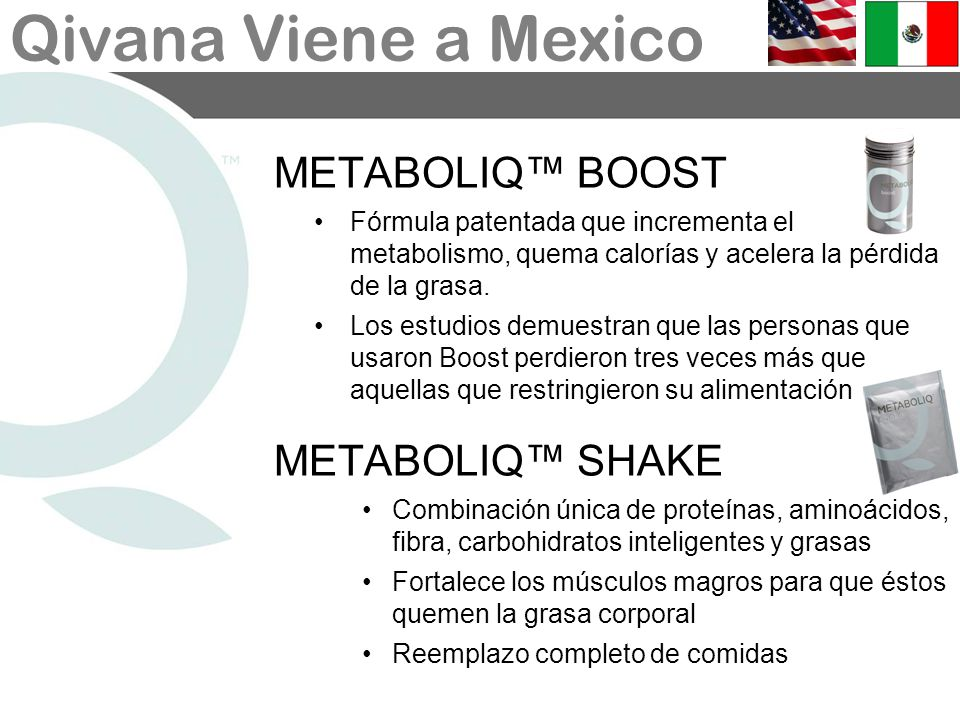 METABOLIQ™ BOOST METABOLIQ™ SHAKE