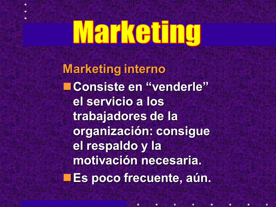 Marketing Marketing interno
