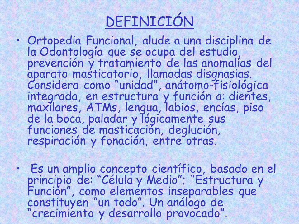 aparatologia en ortopedia funcional