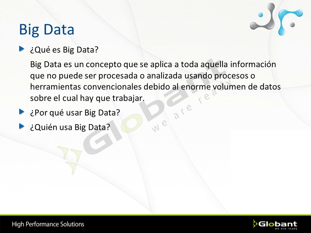 Big Data ¿Qué es Big Data