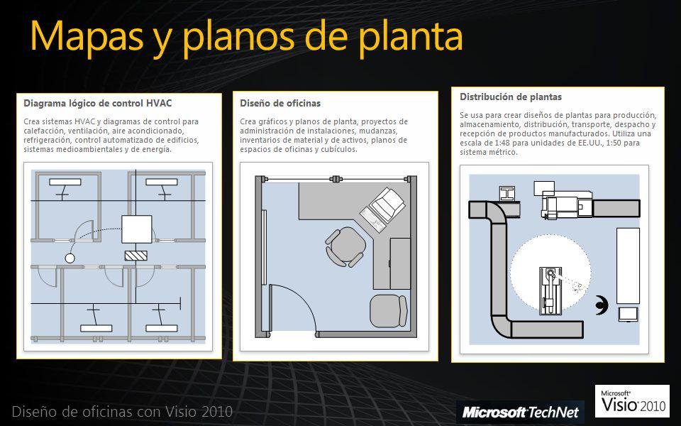 Dise o de oficinas con visio ppt descargar for Diseno de oficinas pequenas planos