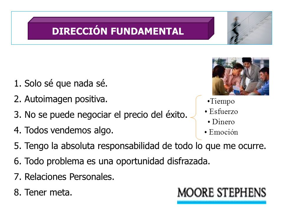 DIRECCIÓN FUNDAMENTAL