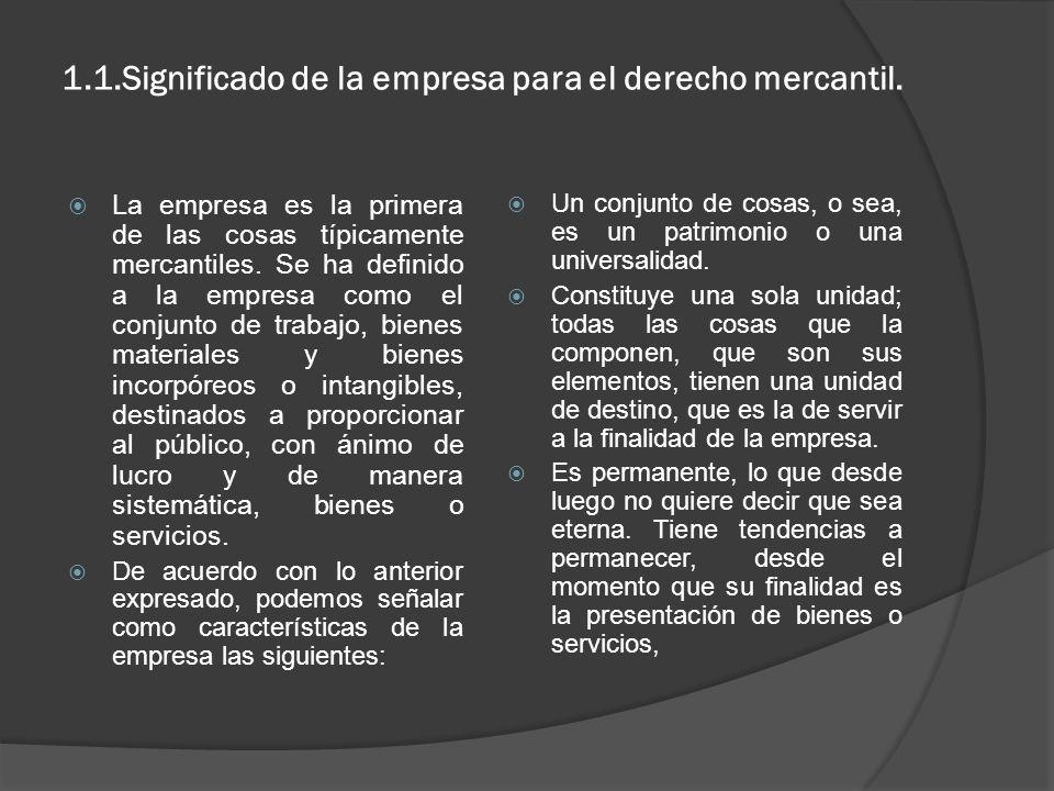 1 La Empresa Codigo De Comercio De El Salvador Art 553 La