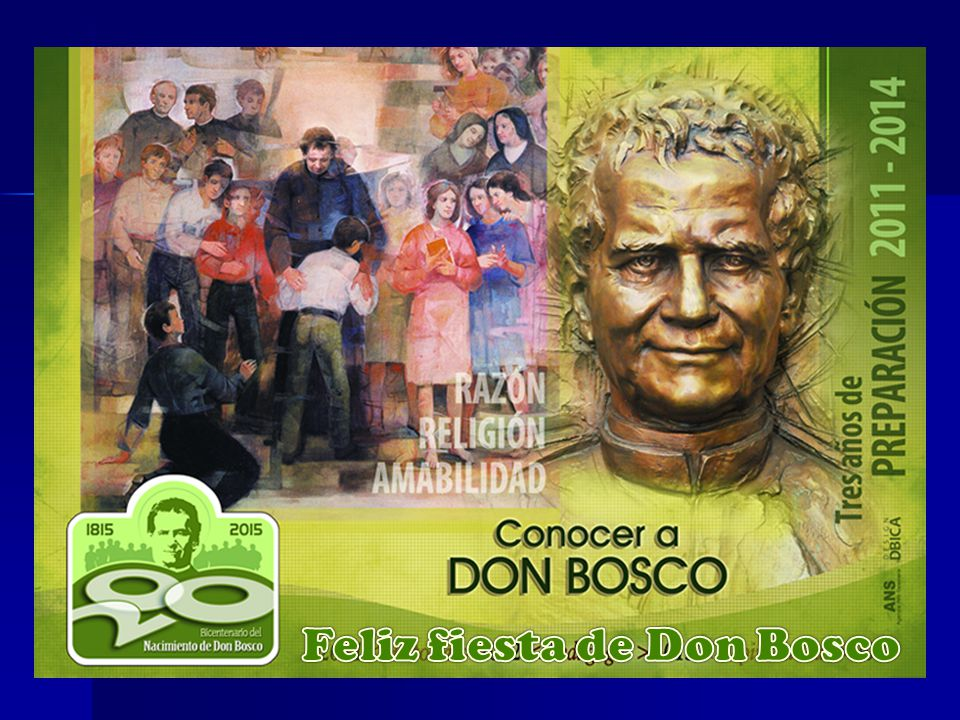 Feliz fiesta de Don Bosco