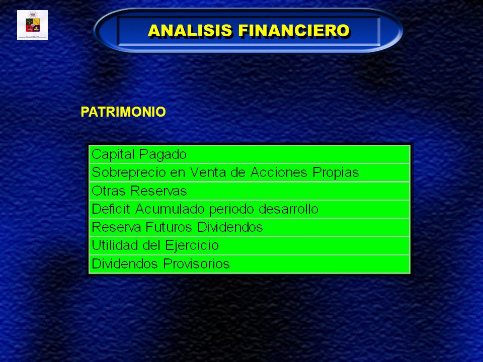 ANALISIS FINANCIERO PATRIMONIO