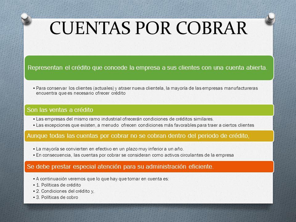 Sesión 5 ADMINISTRACIÓN DE CUENTAS POR COBRAR - ppt video online ...