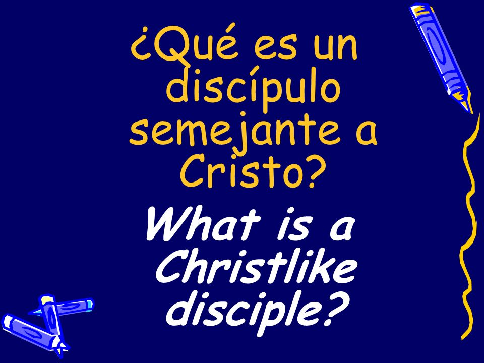 What is a Christlike disciple