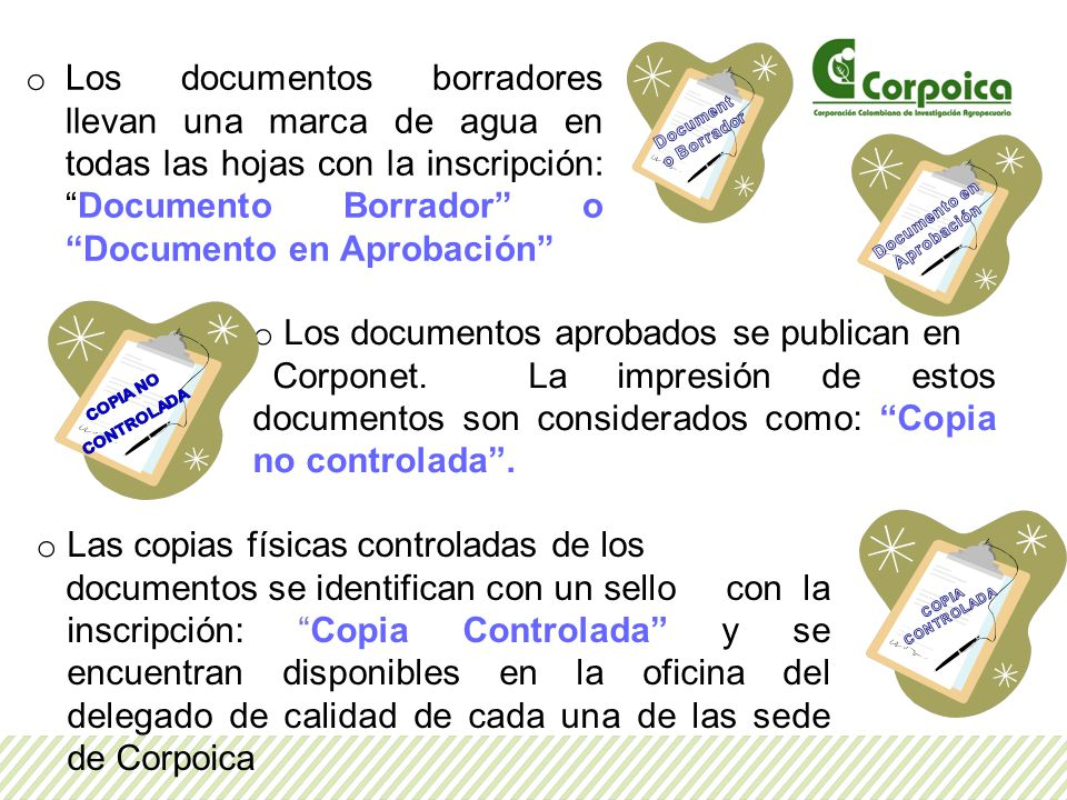 Documento en Aprobación