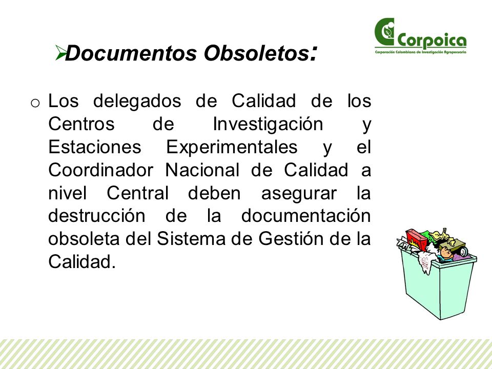 Documentos Obsoletos: