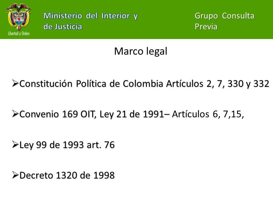 Ministerio del interior colombia consulta previa for Ministerio del interior y de justicia