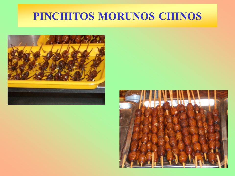 PINCHITOS MORUNOS CHINOS